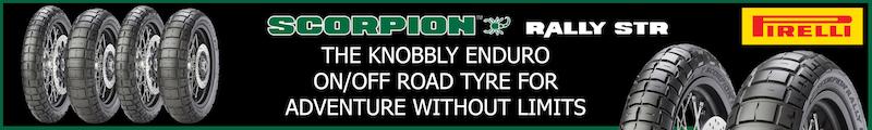 Pirelli Scorpion Rally banner