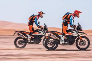 KTM 790 Adventure and Adventure R shown off at EICMA