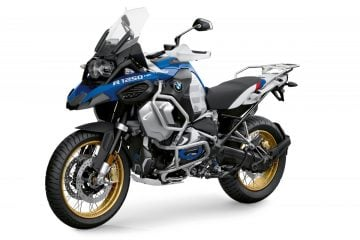 BMW R 1250 GS Adventure with HP styling