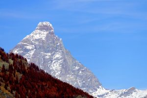 The Matterhorn as viewed from Italy
