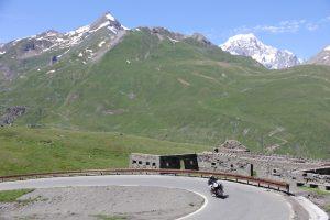 Mont Blanc as viewed from the Petit Saint Bernard