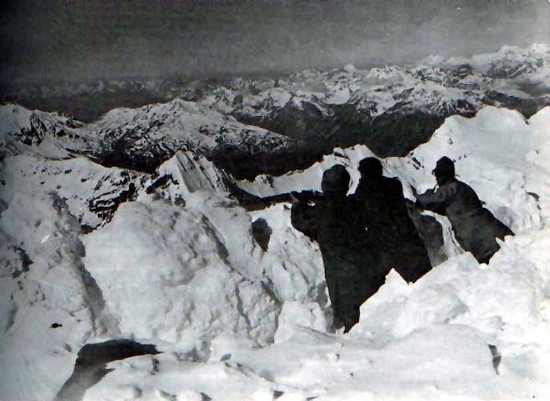 The Ortler Trench