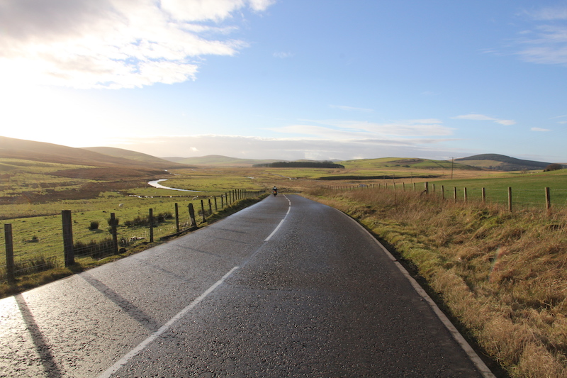 Motorcycle routes in Scotland. Bridgestone coast to coast.