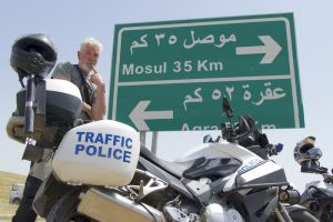 Watch: Riding on the frontlines in war-torn Iraq