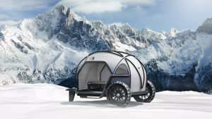 BMW and The North Face reveal Futurelight motorcycle trailer tent concept