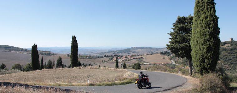 Ducati Multistrada in Tuscany