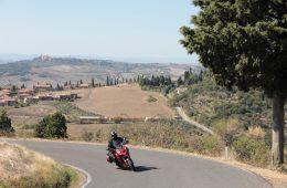 Multistrada in Tuscany
