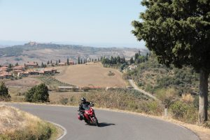 Multistrada in Tuscany