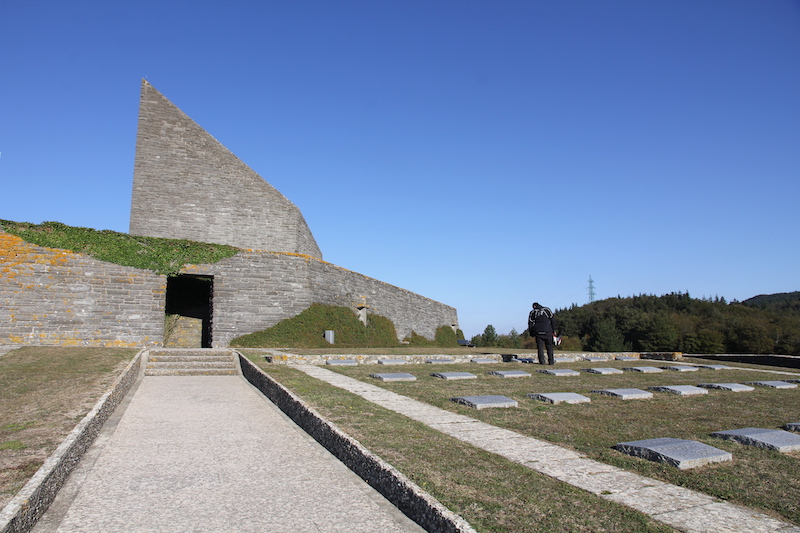 The German Memorial at the summit of the Futa Pass
