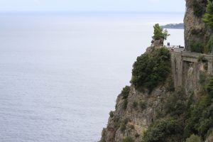 The road along the Amalfi Coast