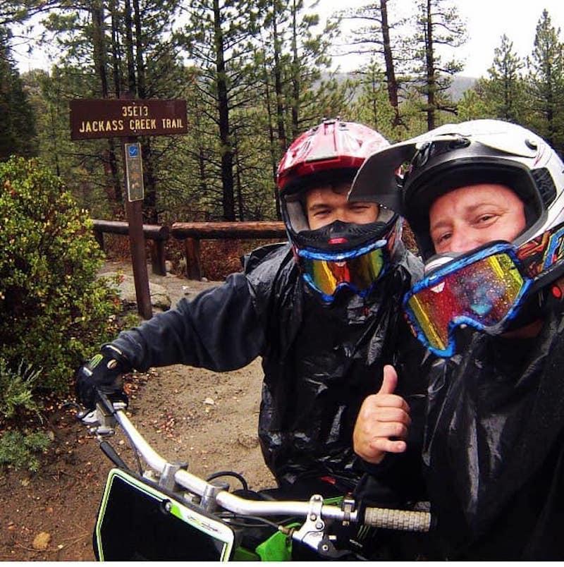 Adventure Biker Rider funny place names