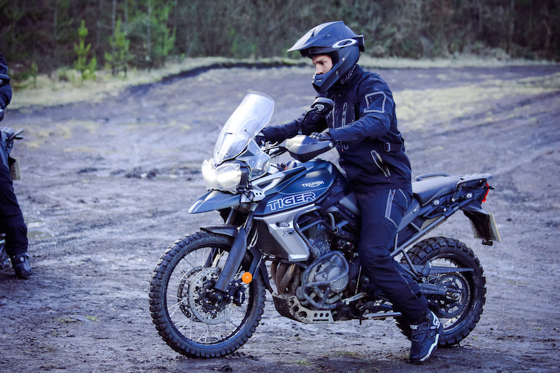 George North Triumph Tiger 800