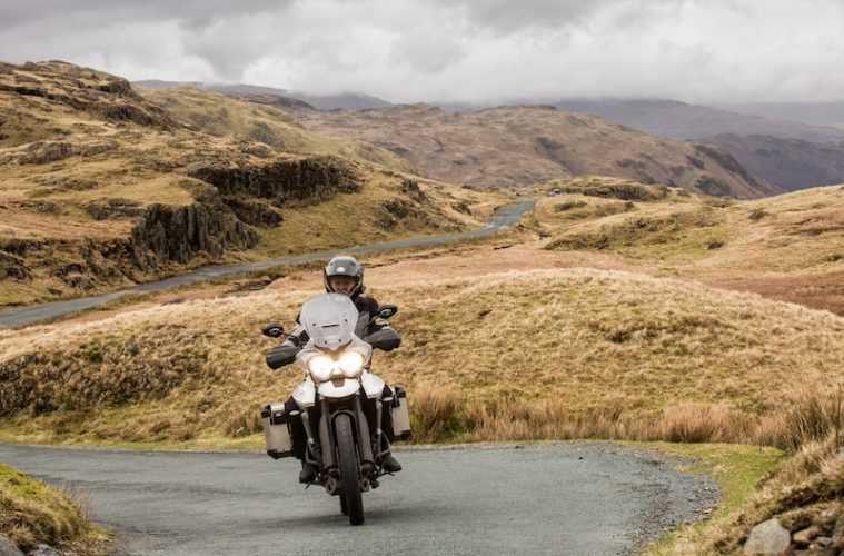 Cumbria Discovery Route. A motorcycle tour of the Lake District.