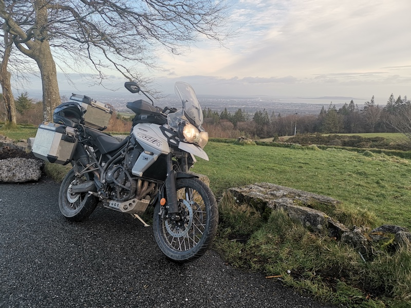 Bridgestone Ireland Coast to Coast. Motorcycle touring in Ireland