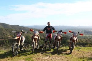 Off-road motorbike tour in Portugal with Ruben Faria
