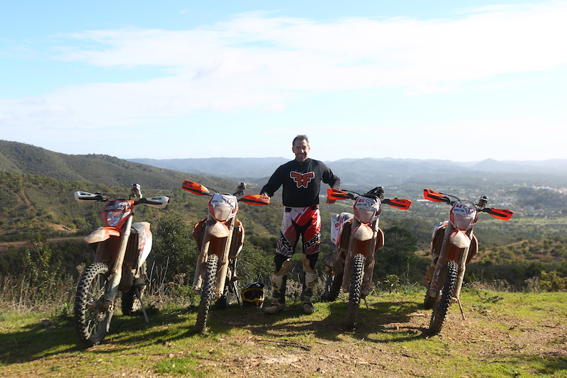 Off-road motorcycle touring in Portugal with Ruben Faria