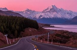 Motorcycle touring in New Zealand