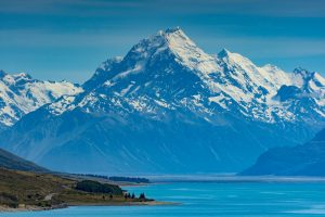 Motorcycle touring New Zealand, Mount Cook, Ryan Payne, Flickr