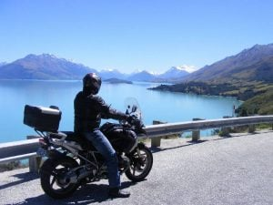 Motorcycle touring New Zealand