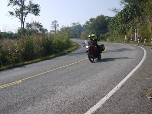 Edelweiss motorcycle tour in northern Thailand