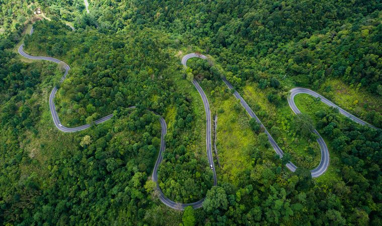 Motorcycle touring in Thailand