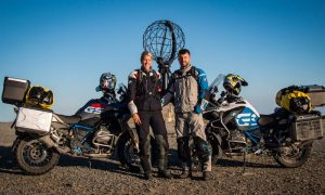 Verena and Martin travel to Nordkapp
