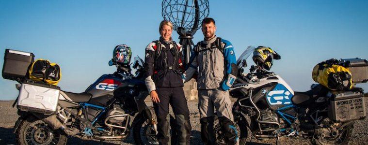Verena and Martin travel to Nordkapp