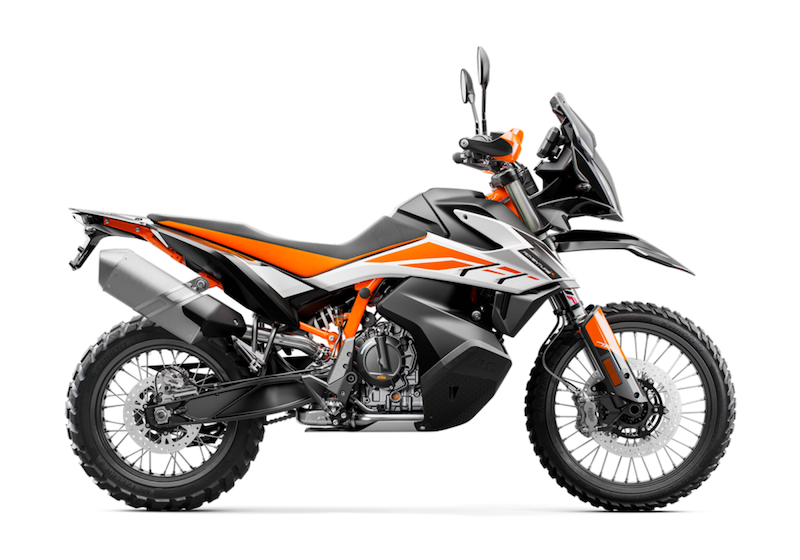 KTM 790 Adventure R stock image