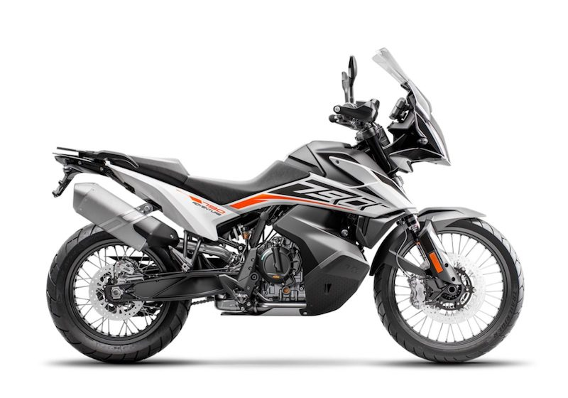 KTM 790 Adventure stock image