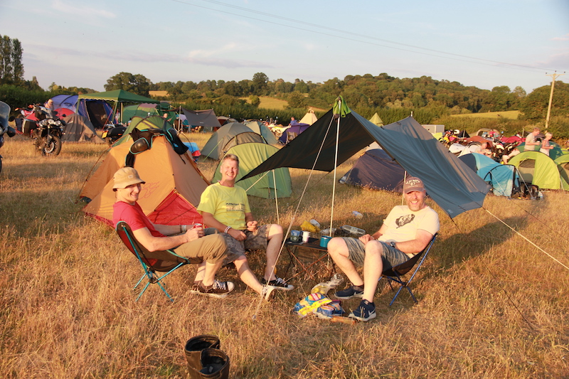 Camping at the ABR Festival 2018