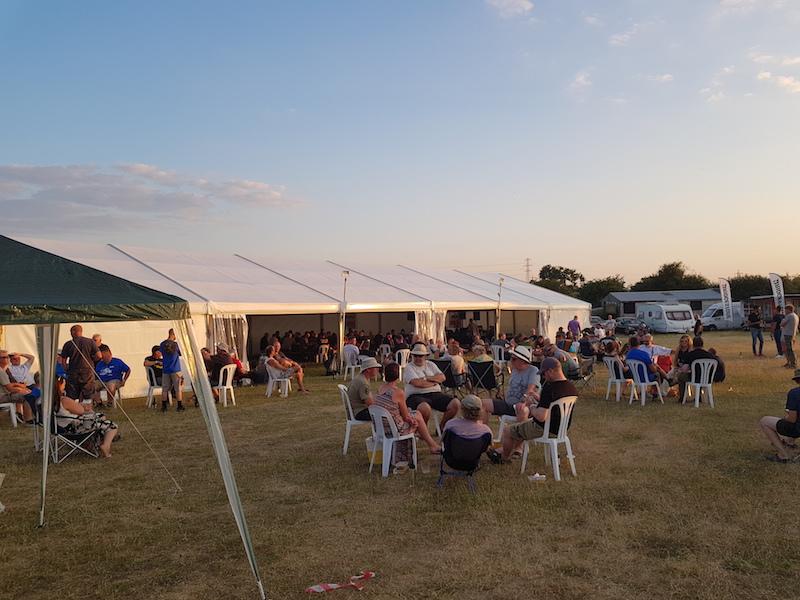 ABR Festival as evening descends