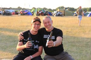 Two guys at the ABR festival