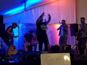 Live music at the ABR Festival 2019