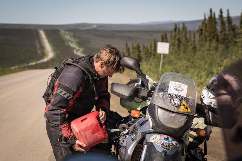 Motorcycling Alaska