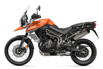 Triumph Tiger 800 XCA Baja Orange