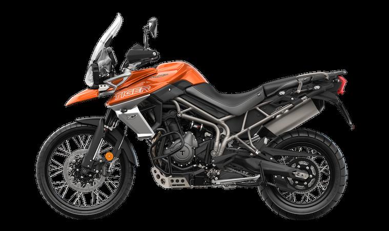 Do You Fancy A Triumph Tiger In Baja Orange Adventure Bike Rider