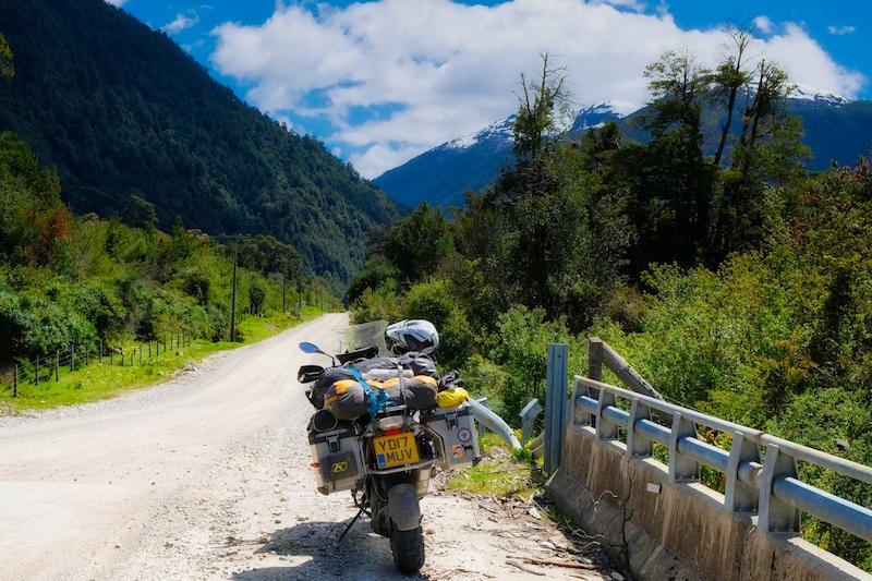 Motorcycling through Patagonia