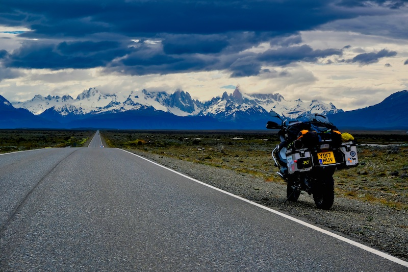 Motorcycling Patagonia