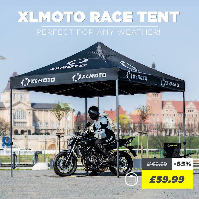 XLMOTO Easy-Up Race Tent