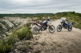 Two Yamaha Tenere 700s together