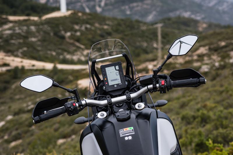 Yamaha Tenere 700 dash