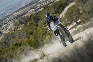 Yamaha Tenere 700 in the dirt