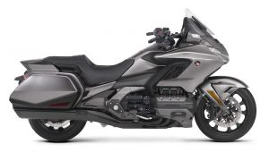 Studio shot of Honda Gold Wing