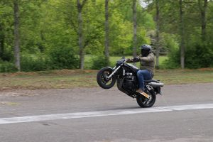 Learn to wheelie