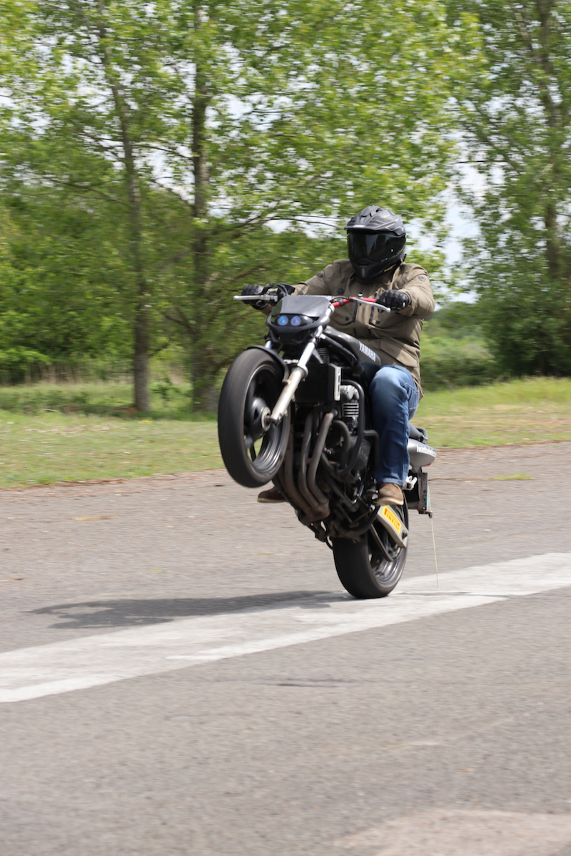 Learn to wheelie