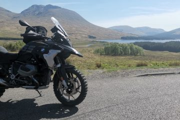 motorcycle route in Scotland