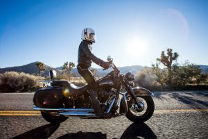 motorcycle the American West