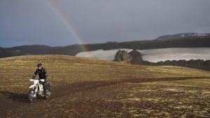motorcycle trails in Iceland
