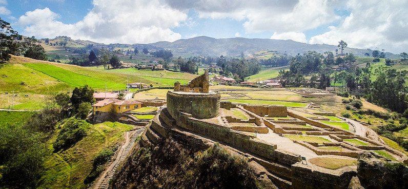 Motorcycle tour of Ecuador
