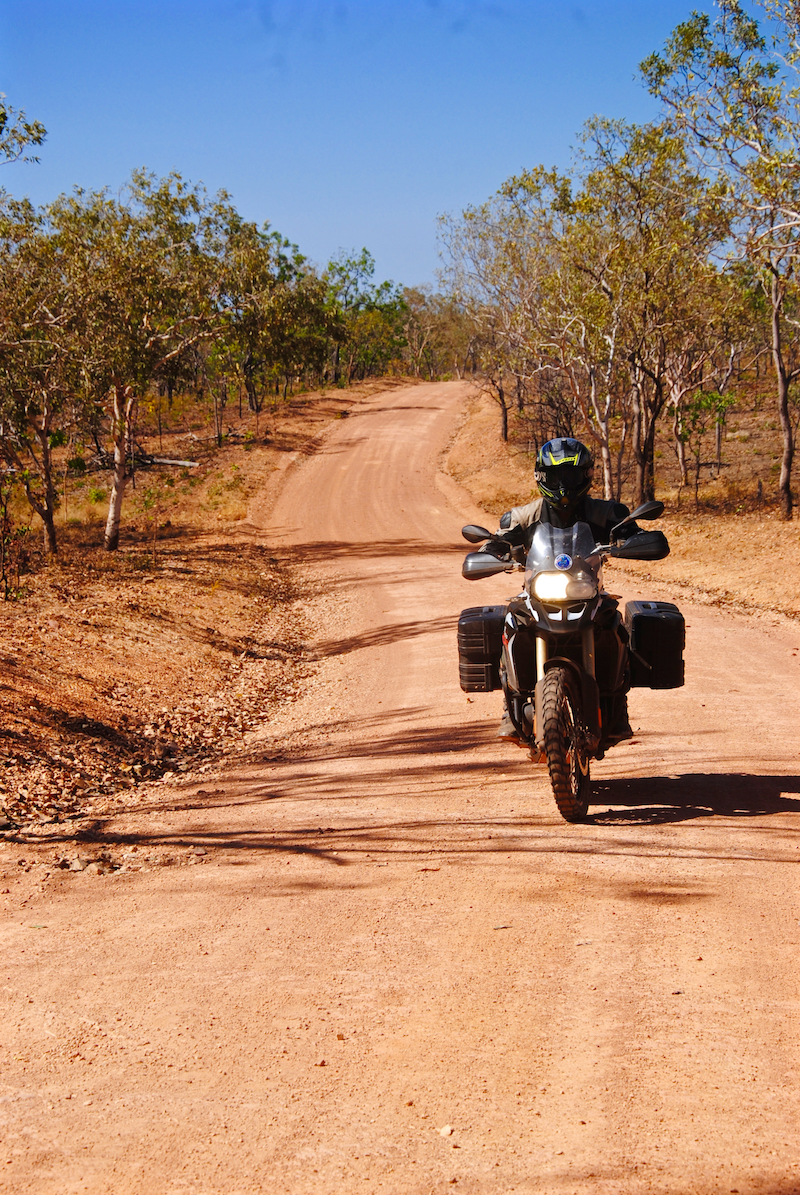 Motorcycle touring in Australia